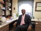 Dr. Williams in office_Sept2012